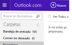 OUTLOOK PARA LA WEB SE RENUEVA