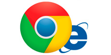 GOOGLE CHROME GANA LA PARTIDA A INTERNET EXPLORER