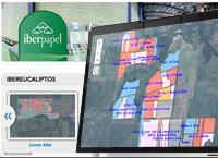 Sistema de Información Geográfica para controlar la producción de Iberpapel - Solusoft