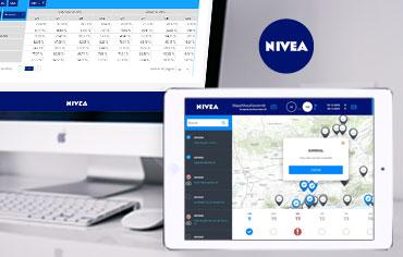 Nivea: fuerza de ventas y reporting - Solusoft