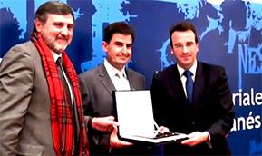solusoft gana el Premio anual de Industria Ciudad de Leganés de UNELE