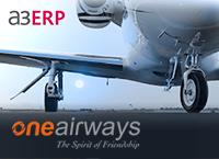 Gestión empresarial con a3ERP para One Airways
